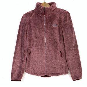 The North Face Burgundy Osito Furry Fleece Jacket